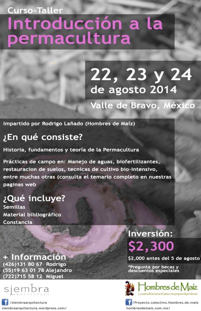 Los invitamos al taller que será impartido por nuestros amigos y colaboradores Hombres de Maíz