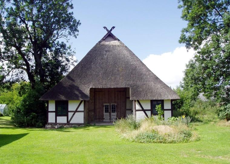 Niederdeutsches Hallenhaus in Glasow